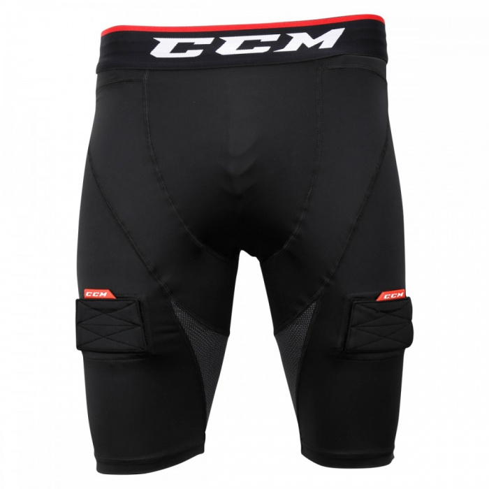 Suspenzor CCM Compression Jock Short Sr
