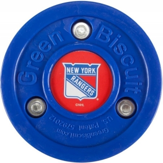 Puk Green Biscuit NHL New York Rangers