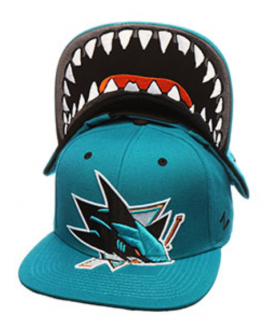 Kšiltovka Zephyr Fitted NHL San Jose Sharks